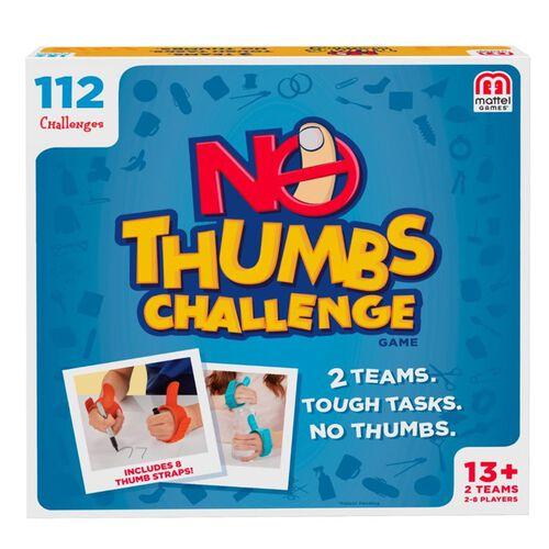 Mattel Games แมทเทล เกม No Thumb Challenge