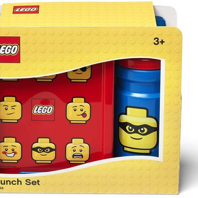 LEGO เลโก้ ชุดกล่องข้าว สีแดง