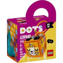 LEGO เลโก้ ด็อทส์ แบ็ก แท็ก ที่ห้อยกระเป๋า ลายเสือดาว 41929