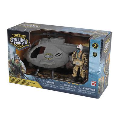 Rescue Force เรสคิว ฟอร์ส เพโทรล วีฮิเคิล เพลย์เซ็ต - เฮลิคอปเตอร์