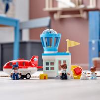LEGO เลโก้ ดูโปล ชุดตัวต่อเครื่องบินและสนามบิน 10961