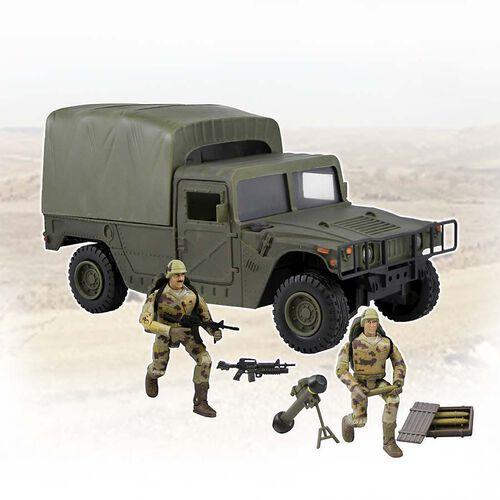 World Peacekeepers เวิร์ล พีซคีพเปอร์ รถฮัมวี มีหุ่นทหาร 2 ตัว (คละแบบ)