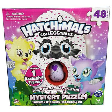 Hatchimals แฮทจิมอล Colleggtibles Mystery Puzzle