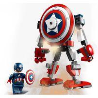 LEGO เลโก้ กัปตัน อเมริกัน เมค อาร์มเมอร์ 76168
