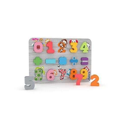 J'adore ฌาดอร์ ของเล่นไม้ พัซเซิลเสริมพัฒนาการเรื่องตัวเลข