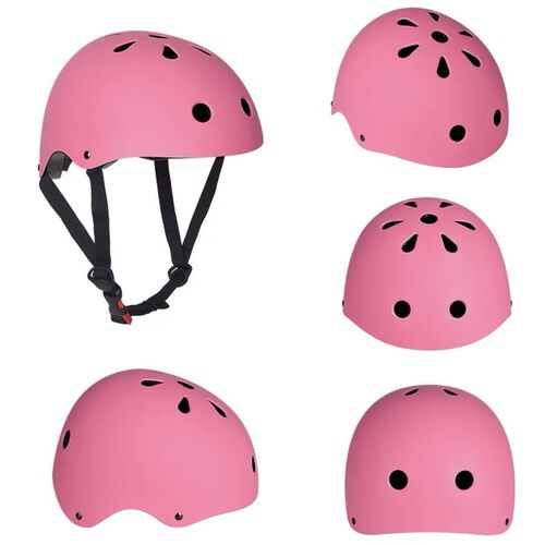 หมวกกันน๊อคเด็ก ขนาด S  สีชมพู (50-54 cm)
