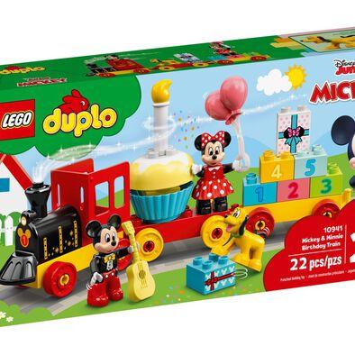 LEGO เลโก้ มิคกี้ และ มินนี่ เบิร์ธเดย์ เทรน 10941
