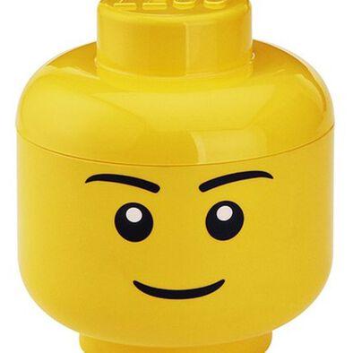 LEGO เลโก้ กล่องเก็บบริครูปหัวมินิฟิกเกอร์ ขนาดเล็ก เด็กชาย