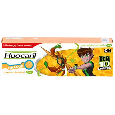 Fluocaril ฟลูโอคารีลคิดส์ ยาสีฟัน 6+ปี ส้ม 65กรัม