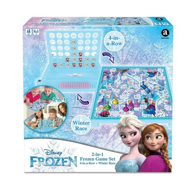 Frozen โฟรเซ่น Combo 4 Inch A Row And Winter Race