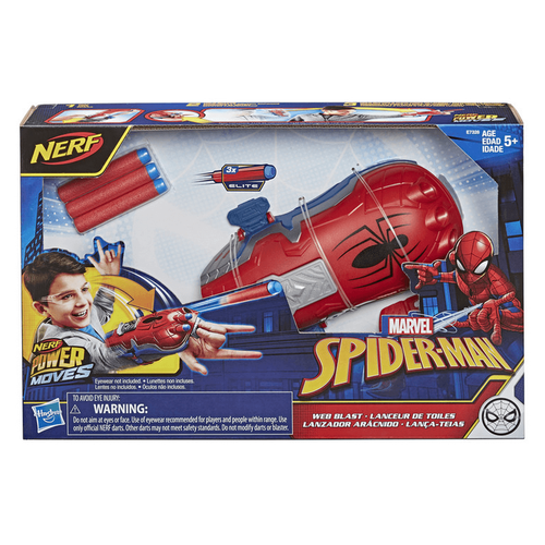 Spider-Man สไปเดอร์แมน พาวเวอร์ มูฟ โรลเพลย์