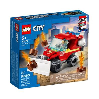 LEGO เลโก้ ไฟร์ ฮาร์ซาด ทรัค 60279