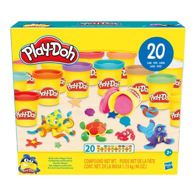 Play-Doh เพลย์โดว์ มัลติคัลเลอร์ เมจิค แพ็ก