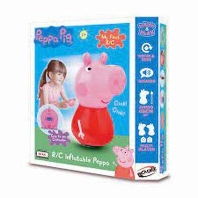 Peppa Pig เป๊ปป้า พิก ตุ๊กตาเป๊ปป้าพิก เป่าลม มีรีโมทคอนโทรล
