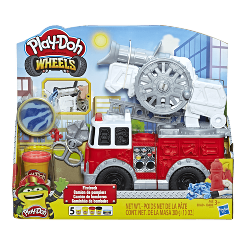 Play-Doh เพลย์โด ชุดแป้งปั้นเซ็ทรถดับเพลิง