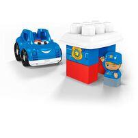 Mega Bloks First Builders เมก้า บล็อคส์ เฟิร์สท์ บิวเดอร์ ปีเตอร์ รถตำรวจ