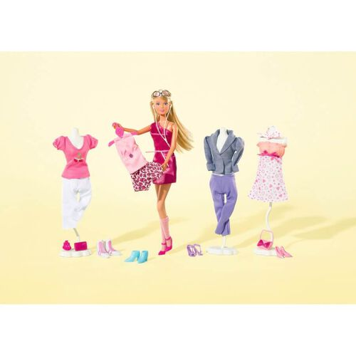 Steffi Love ตุ๊กตาสเตฟี่ พร้อมอุปกรณ์แต่งตัวชุดใหญ่