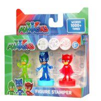 ฟิกเกอร์ของเล่น Pj Masks 3 Figuring Stamper Set