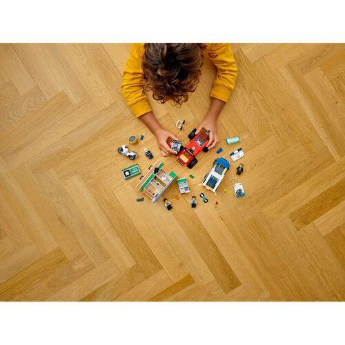 LEGO เลโก้โปลิส มอนสเตอร์ ทรัค ฮีสท์ 60245