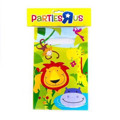 """Parties""""R""""Us ถุงพลาสติก ลายสัตว์ป่า (6x9 นิ้ว)"""