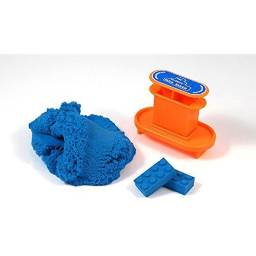 Mad Mattr แมด แมทเทอร์ เซ็ทโดมหัศจรรย์พร้อมแม่พิมพ์ปั๊มบล็อกตัวต่อ สีฟ้า
