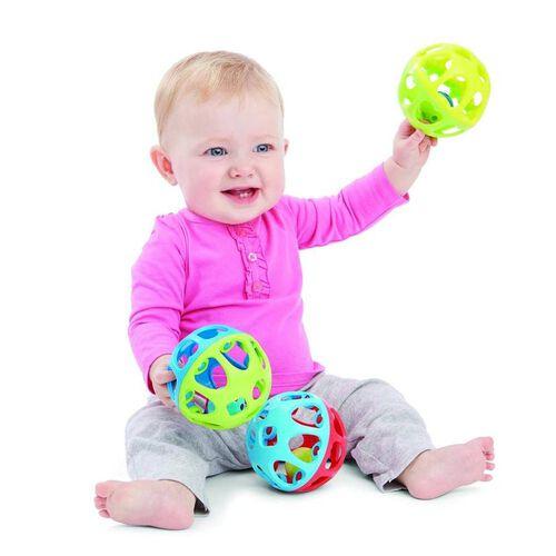 BRU Infant & Preschool บรู แรทเทิล แอนด์ โรล บอล - คละแบบ