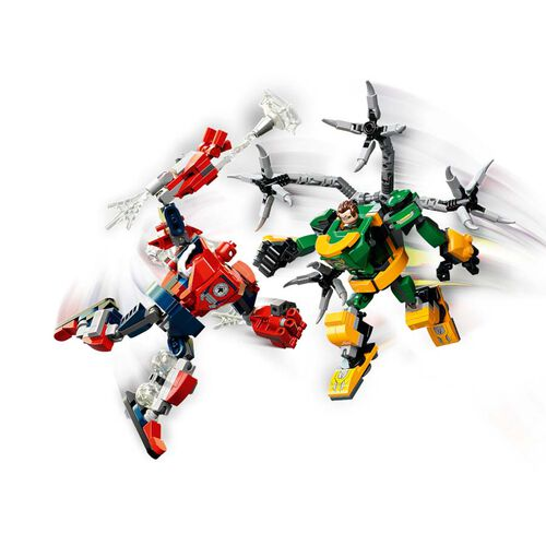 LEGO เลโก้ สไปเดอร์แมน แอนด์ ด็อกเตอร์ อ็อคโตปุส เม็ค แบ็ทเทิล 76198