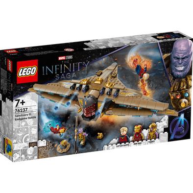 LEGO เลโก้ มาร์เวล อเวนเจอร์ มูฟวี่4 แซงชัวรี่ 2 เอนด์เกม แบ็ทเทิล 76237