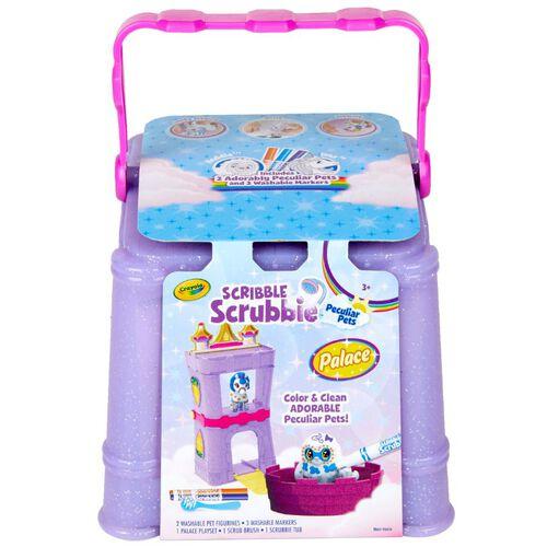 Crayola เครโยล่า สคริบเบิ้ล สครับบี้ ชุดระบายสีและอาบน้ำสัตว์ในตำนาน ชุดเล็ก