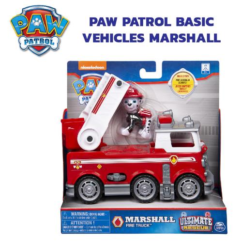 Paw Patrol พาว พาโทรล ชุดเบสิคฟิกเกอร์มาร์แชล พร้อมยานพาหนะ