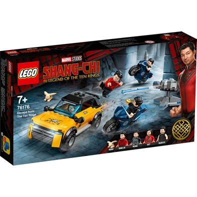 LEGO เลโก้ มาร์เวล ชางชิ เอสเคป ฟรอม เดอะ เทน ริงส์ 76176