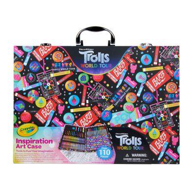 Crayola เครโยล่า กล่องรวมอุปกรณ์ศิลปะแห่งแรงบันดาลใจ โทรลส์