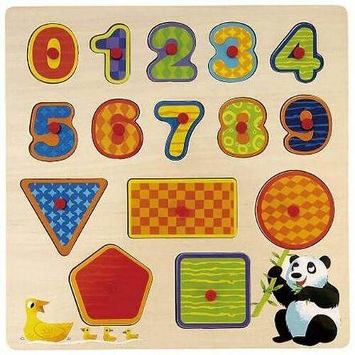 Universe Of Imagination ยูนิเวิร์ส ออฟ อิเมจิเนชั่น พัซเซิลไม้ เสริมพัฒนาการเรื่องตัวอักษร ตัวเลข และรูปทรง