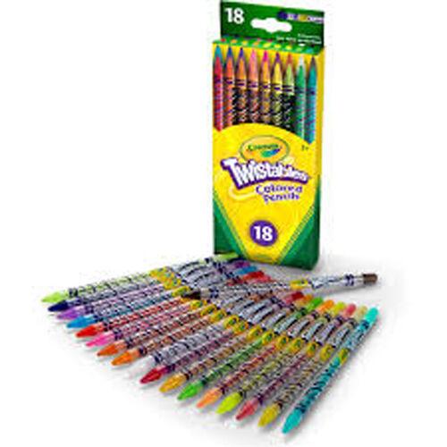 ดินสอสี เครโยล่า 18ct ทวิสเทเบิ้ล