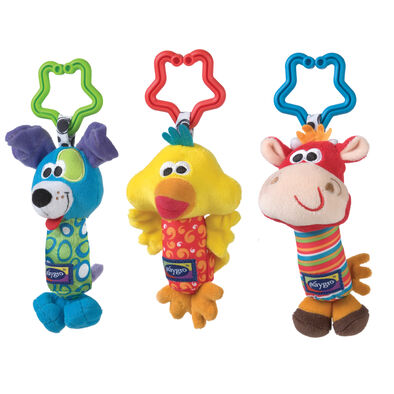 Playgro เพลย์โกร ตุ๊กตาผ้ารูปสัตว์