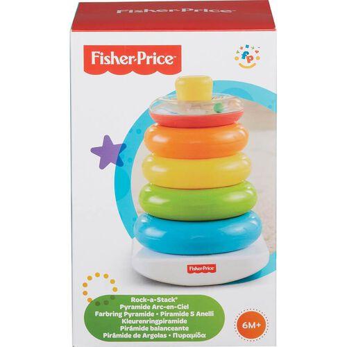 Fisher Price ฟิชเชอร์ ไพรซ์ ห่วงเรียงซ้อน ของเล่นเสริมพัฒนาการ