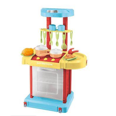 Just Like Home ชุดของเล่นห้องครัวแบบพับเก็บได้