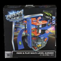 Speed City สปีด ซิตี้ พาร์ค แอนด์ เพลย์ มัลติเลเวล การาจ