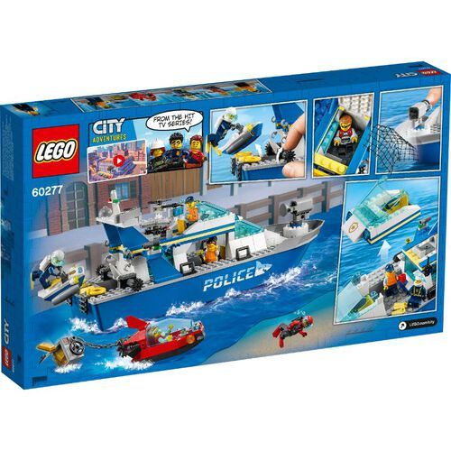LEGO เลโก้ โปลิส เพทโทร โบ๊ท 60277