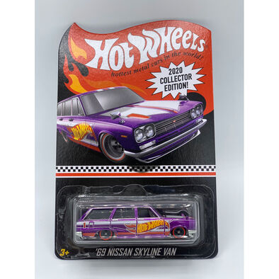 Hot Wheels ฮ็อตวีลส์ '69 นิสสัน สกายไลน์ แวน