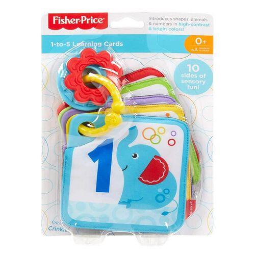 Fisher Price ฟิชเชอร์-ไพรส์ 1 - 5 บัตรคำเสริมการเรียนรู้