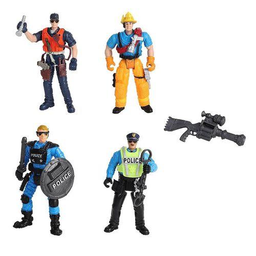 Rescue Force เรสคิว ฟอร์ส ทีม ฟิกเกอร์ เพลย์เซ็ต