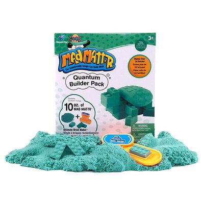 Mad Mattr แมด แมทเทอร์ ชุดแป้งโดมหัศจรรย์ สีเขียวนกเป็ดน้ำ พร้อมแม่พิมพ์บล็อกเลโก้