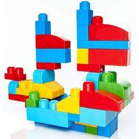 Mega Bloks เมก้า บล็อคส์ บิ๊ก บิลดิ้ง แบ็ก 80 ชิ้น คลาสสิค