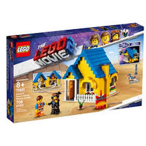 LEGO เลโก้ เอ็มเม็ท ดรีม เฮาส์ เรสคิว ร็อคเกต 70831