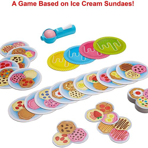 Mattel Games เกมตัดไอศรีมIce Cream Scoops of Fun Kids