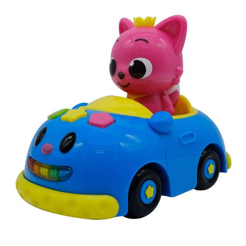 Pinkfong พิงค์ฟอง ชุดรถเบบี้ชาร์คและพิงค์ฟองฟิกเกอร์