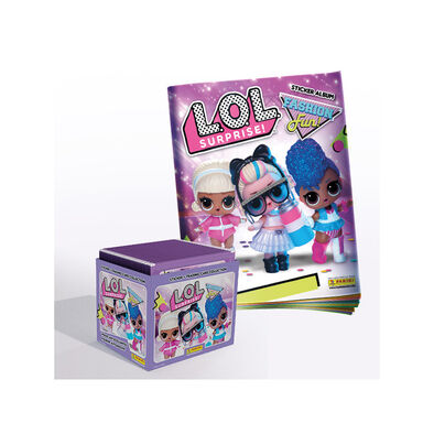 L.O.L. Surprise! สมุดภาพระบายสีและสติกเกอร์แสนสนุก 50 Fun Stickers