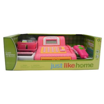 Just Like Home เครื่องแคชเชียร์ สีชมพู