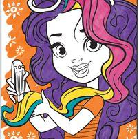 Crayola เครโยล่า สมุดระบายสี คัลเลอร์วันเดอร์ ซันนี่เดย์